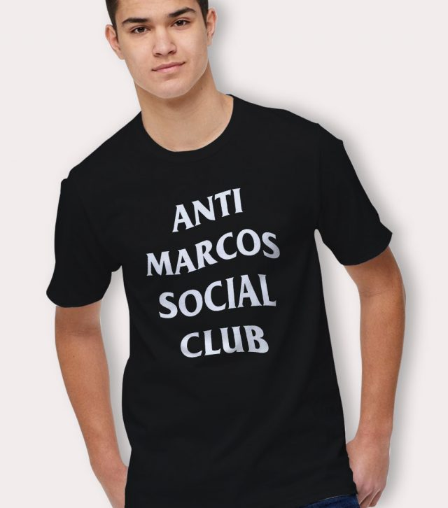 Anti Marcos Social Club Parody T Shirt