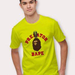 Bathing Ape X Predator T Shirt Collabs