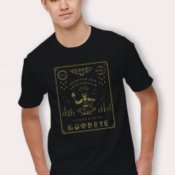Cheap Ouija Board Goodbye Halloween T Shirt