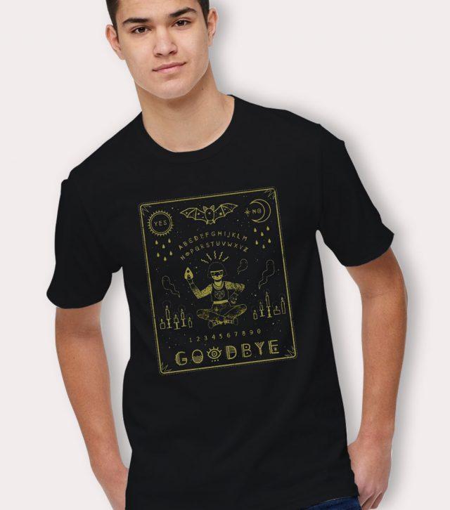 Cheap Ouija Board Goodbye Halloween T Shirt
