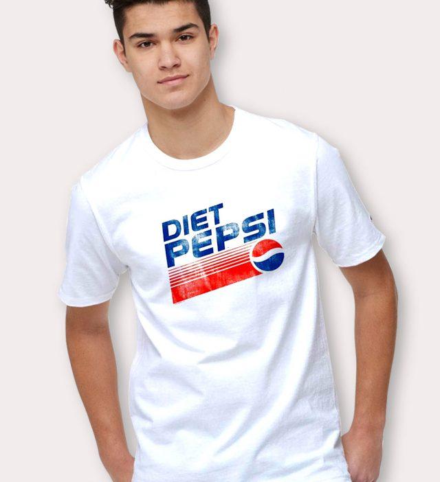 Diet Pepsi Vintage 80s T Shirt