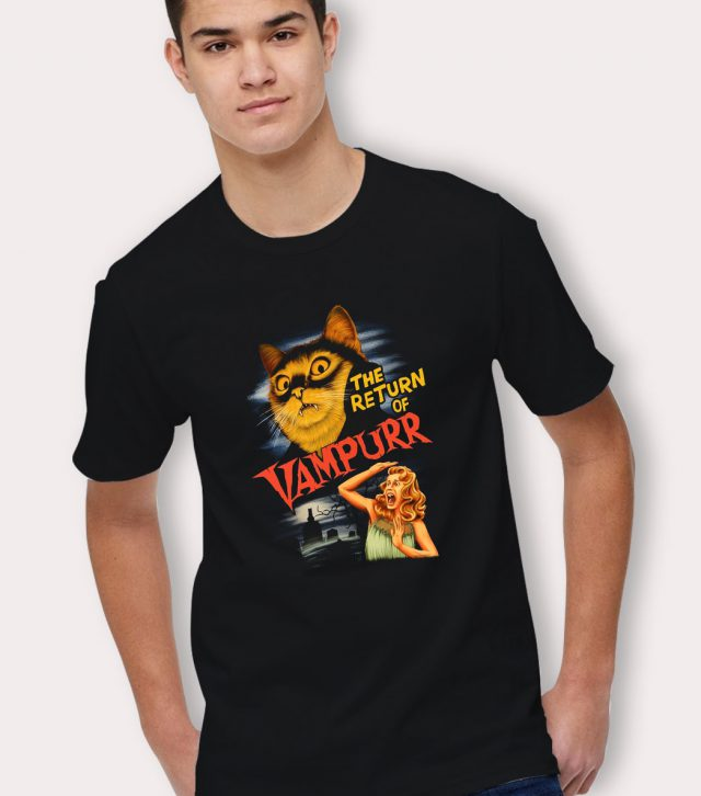 Funny The Return Of Vampurr Halloween T Shirt