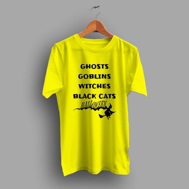 Ghosts Halloween T Shirt