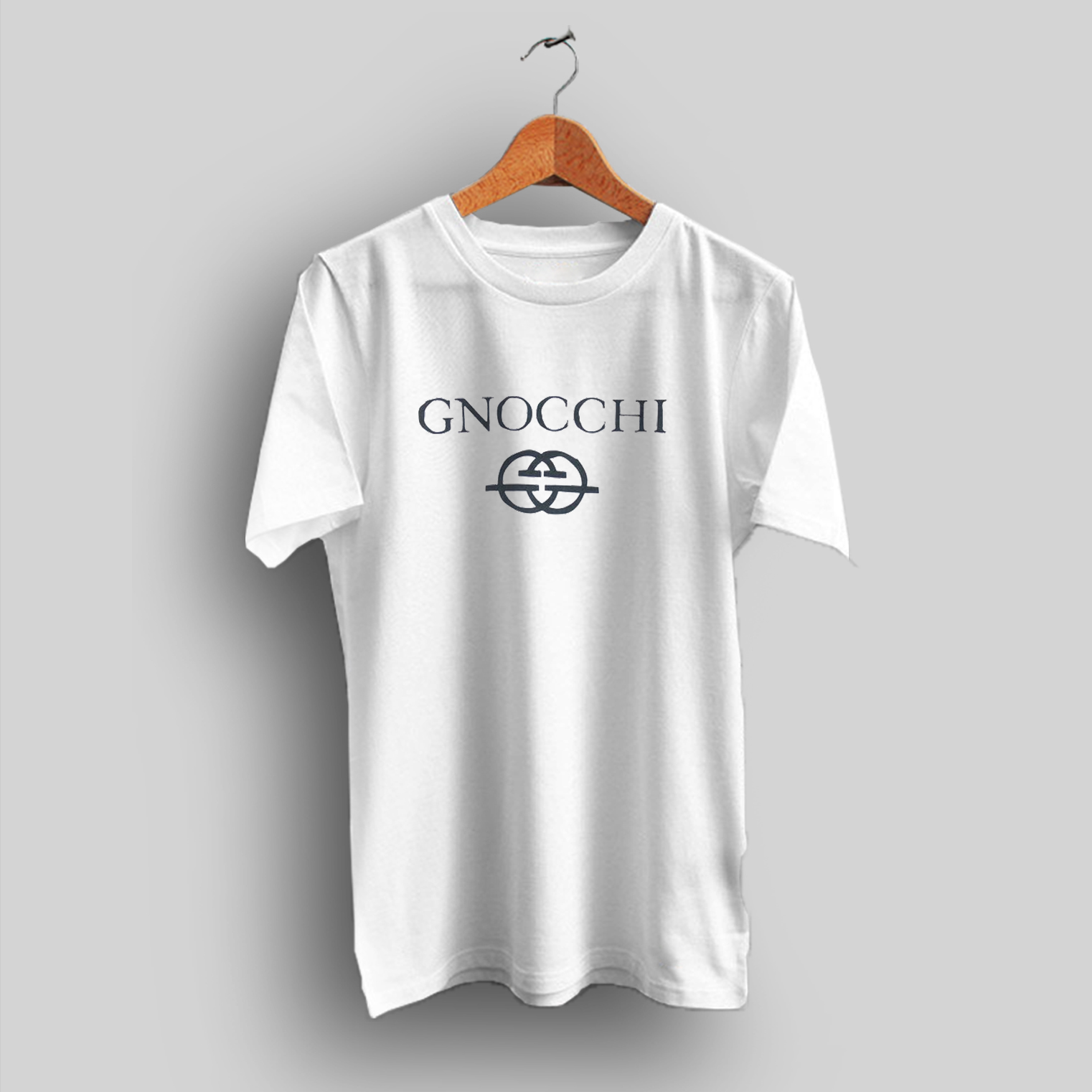 83edd4b0 Gnocchi Gucci Inspired Parody T Shirt Cheap Urban Clothing