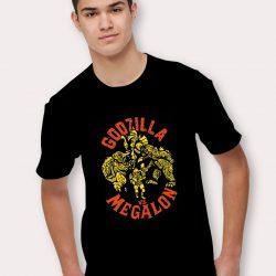 Godzilla Vs Megalon Vintage T Shirt
