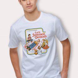 Let's Summon Demons Halloween T Shirt