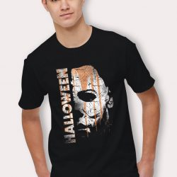 Michael Myers Mask And Drips Halloween T Shirt