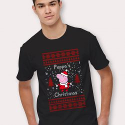 Peppa Pig Ugly Christmas T Shirt