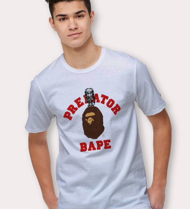 Predator X Bape Urban T Shirt Fashion Collaboration