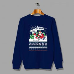 Santa Claus Happy Holidays Ugly Sweater