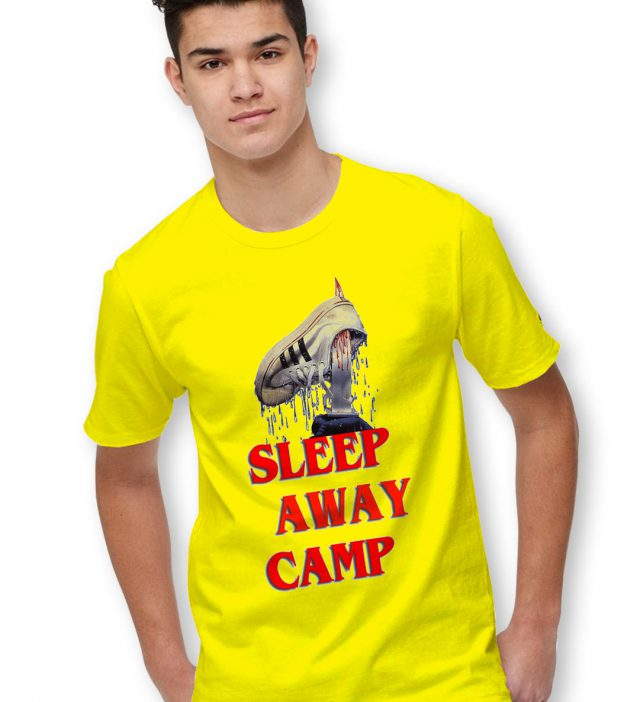 Sleep Away Camp Halloween T Shirt Series