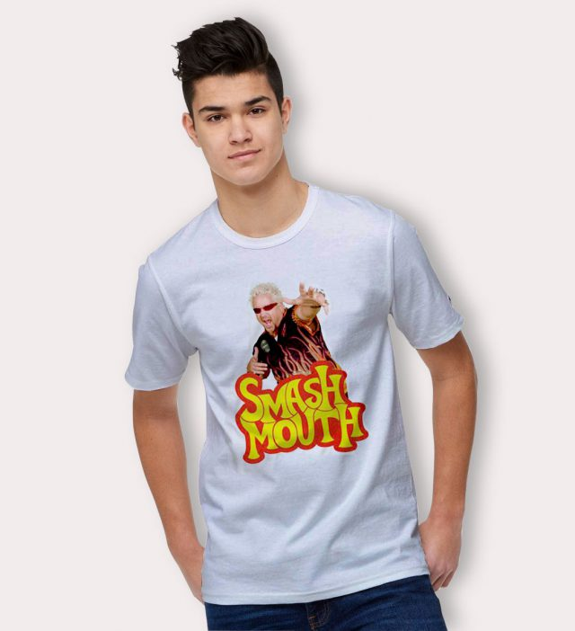 Cheap Smash Mouth Steve Harwell T Shirt