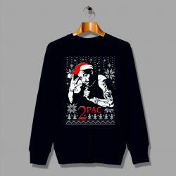 Tupac Ugly Christmas Sweater