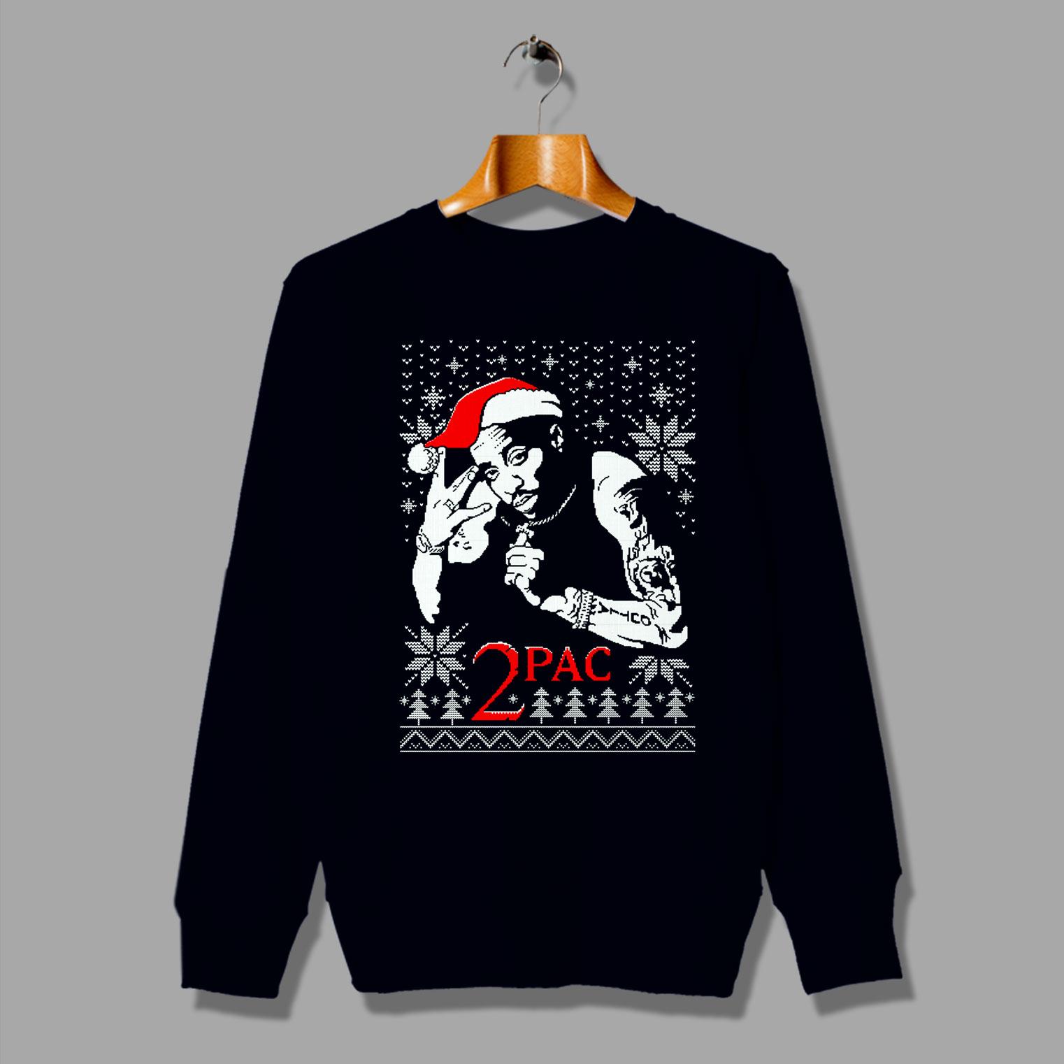 Tupac Hip Hop Legend Ugly Christmas Sweater By Hotverocom