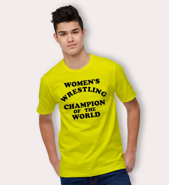 Womens Wrestling Champion Of The World T Shirt