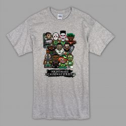 A Nightmare On Causeway Street Halloween T Shirt