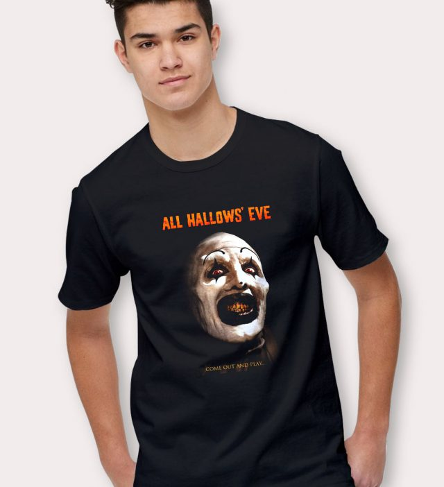 All Hallows Eve Come Out And Play Halloween T Shirt