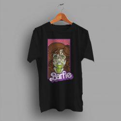 Barfie Barbie Zombie Parody Halloween T Shirt