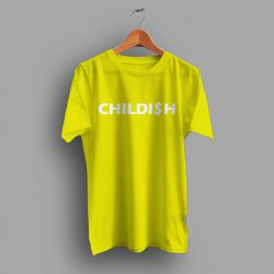 Cheap Childish Slogan Graphic T Shirt