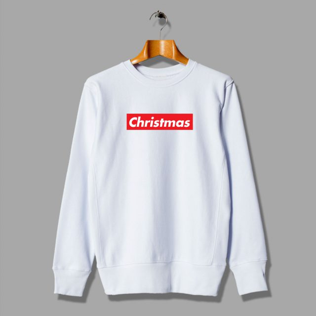 Cheap Custom Supreme Christmas Sweatshirt