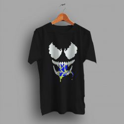 Cheap Spider Man Venom Face Movie T Shirt