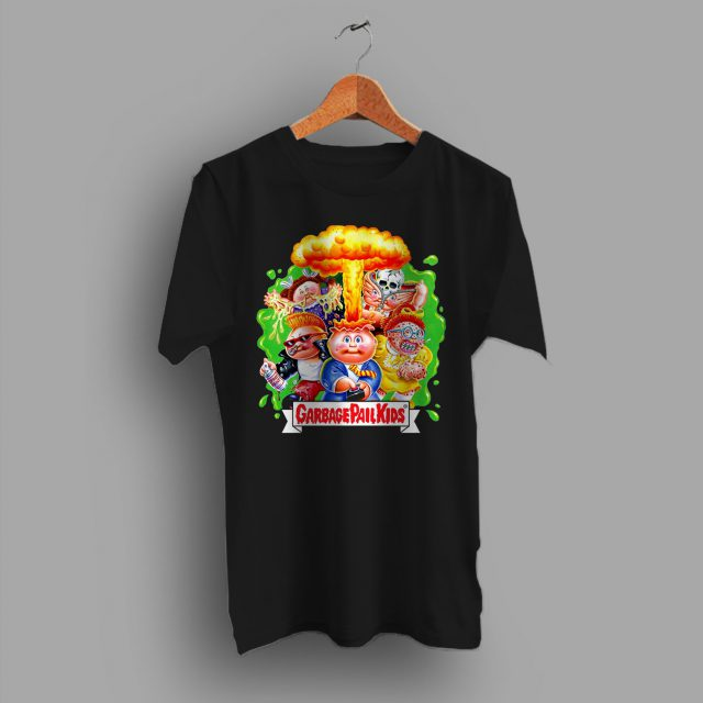Garbage Pail Kids Halloween T Shirt