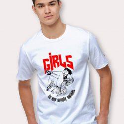Girls Is My Spirit Animal Graphic T Shirt