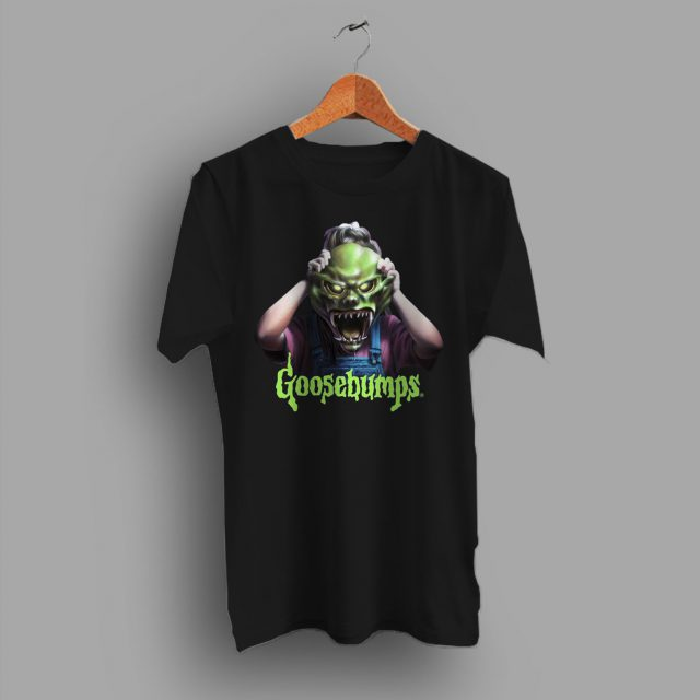 Goosebumps Haunted Mask Halloween T Shirt