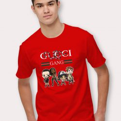 Gucci Gang Walking Dead Parody T Shirt