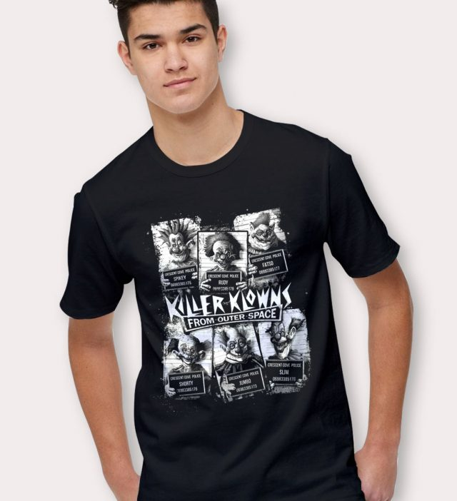 Killer Klowns Cult Mugshot Halloween T Shirt