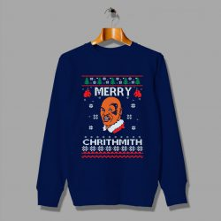 Merry Chrithmith Mike Tyson Christmas Ugly Sweater