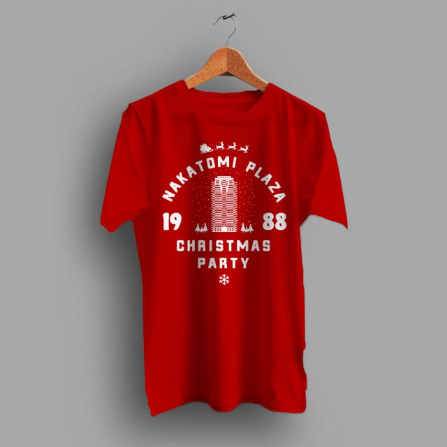 baffd4936 Nakatomi Plaza Christmas Party 1988 T Shirt - HotVero.com