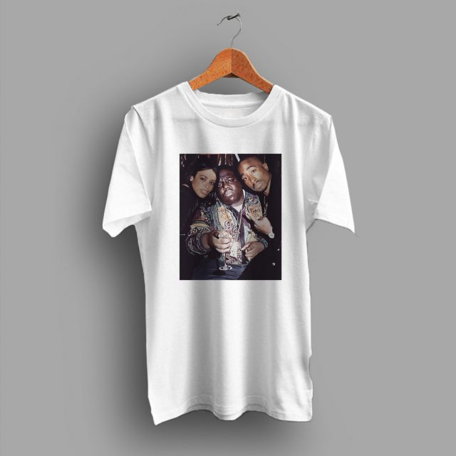 Notorious B.I.G x Aaliyah and Tupac Hip Hop T Shirt