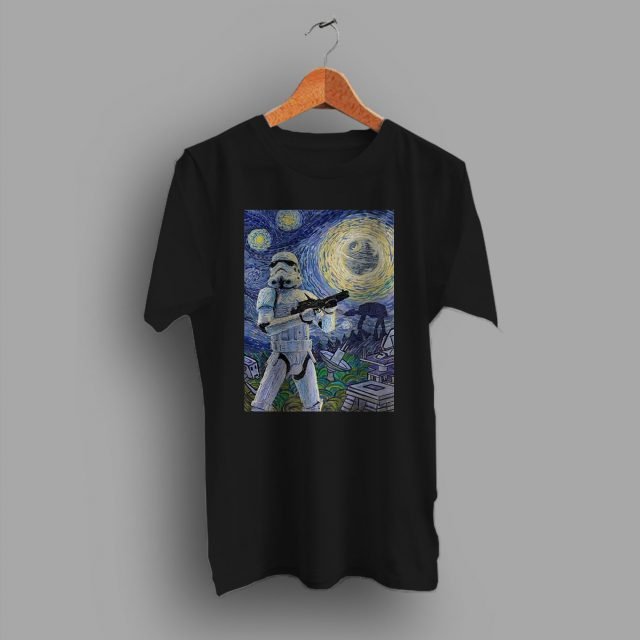 Starry NIght Star Wars Stormtrooper T Shirt