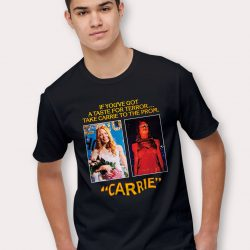 Take Carrie To The Prom Vintage Halloween T Shirt