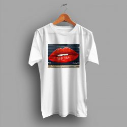 Cheap Bodega SF Lips Graffiti Wall Cute T Shirt