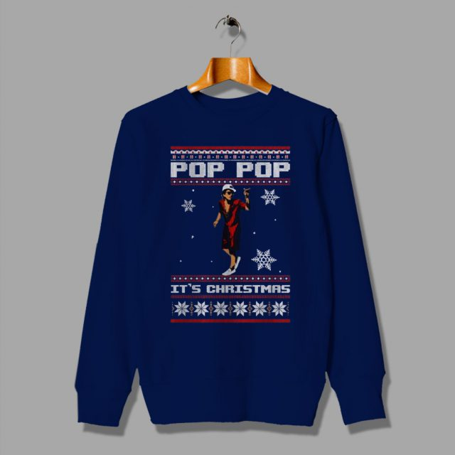 Cheap Bruno Mars Pop Pop Ugly Christmas Sweater