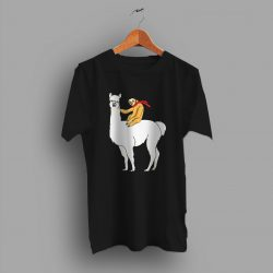 Cheap Sloth Riding Llama Funny T Shirt