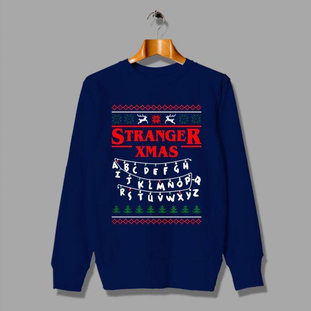 Cheap Stranger Things Xmas Ugly Sweatshirt