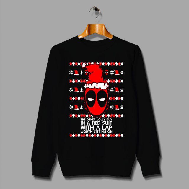 Funny Deadpool Santa Claus Ugly Christmas Sweater