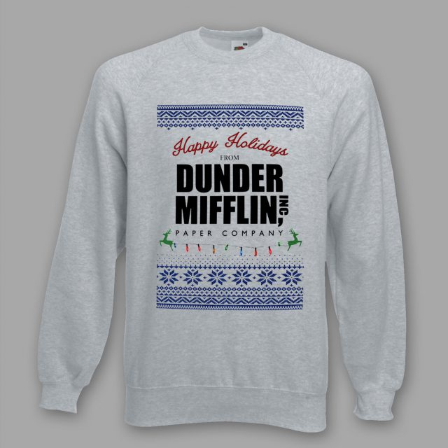 Happy Holidays From Dunder Mifflin Christmas Sweatshirt