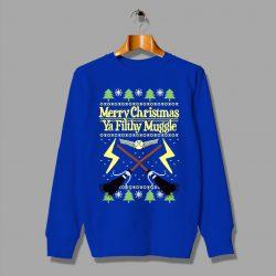 Harry Potter Merry Christmas Ya Filthy Muggle Sweatshirt