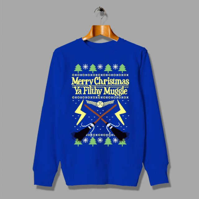 Harry Potter Merry Christmas Ya Filthy Muggle Sweatshirt
