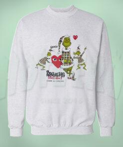 The Grinch Comme Des Garcons Collaboration Sweatshirt