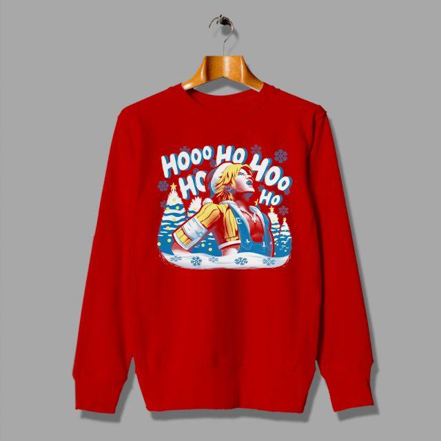 Tidus Laugh Final Fantasy X Ugly Christmas Sweatshirt