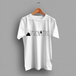 Adventure Font Cheap Simple T Shirt