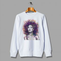 African Natural Color Afro Cheap Sweatshirt