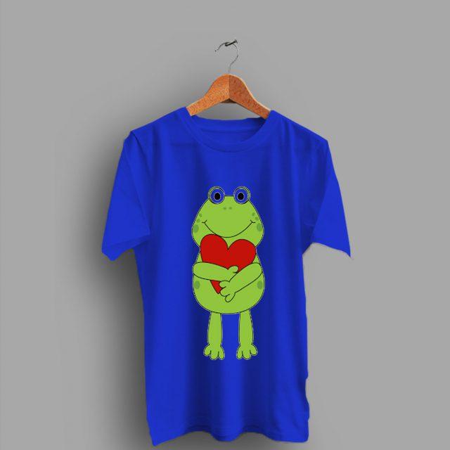 Animation Frog for Kerropi Art Love Valentine Day T Shirt