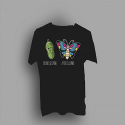 Before After Sleeping Queen Gift T Shirt