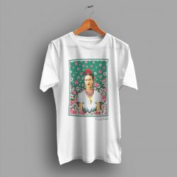 Cheap Frida Kahlo Floral Vintage T Shirt